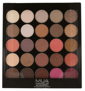 MUA Paleta 25 Cieni do powiek Burning Embers